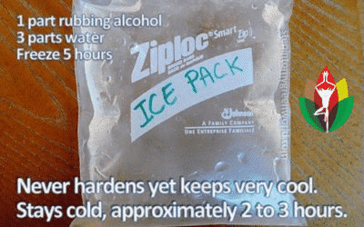 Homemade Soft Ice Pack